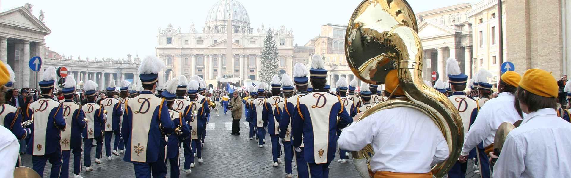 Primo anno della Pace a Roma